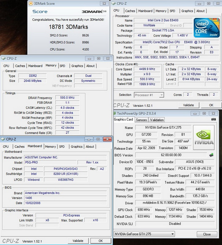 06 single P45 Against SLI???