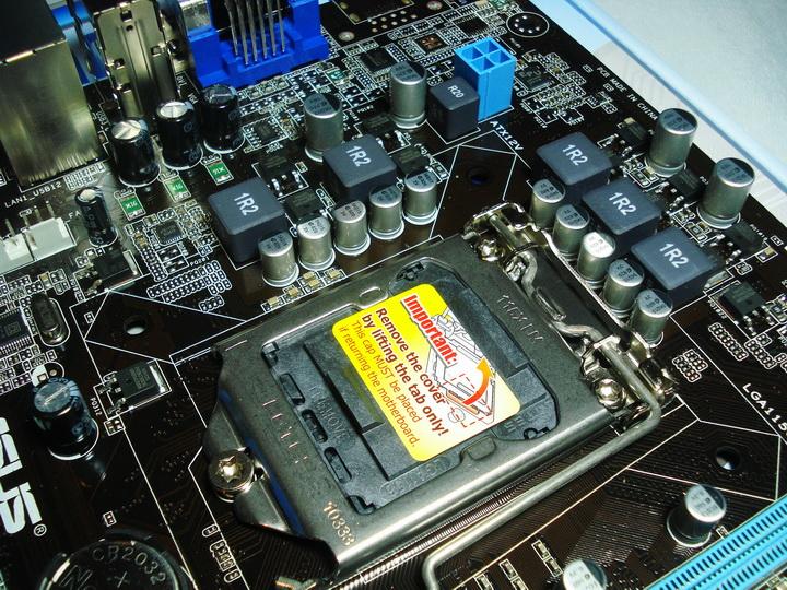 cpu control ASUS P7H55 M LX