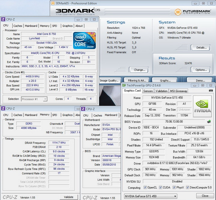 05 1 REVIEW:PALIT GeForce GTS 450 Low Profile 1GB GDDR5