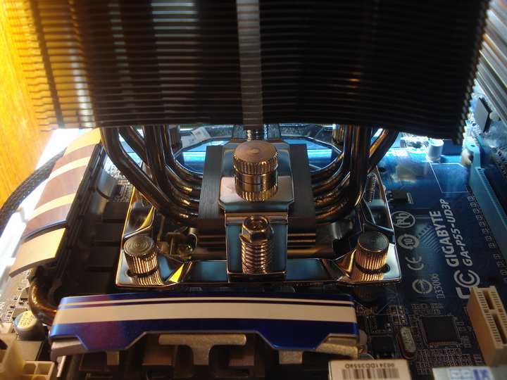 test system2 Thermalright MUX 120 Black CPU Heatsink