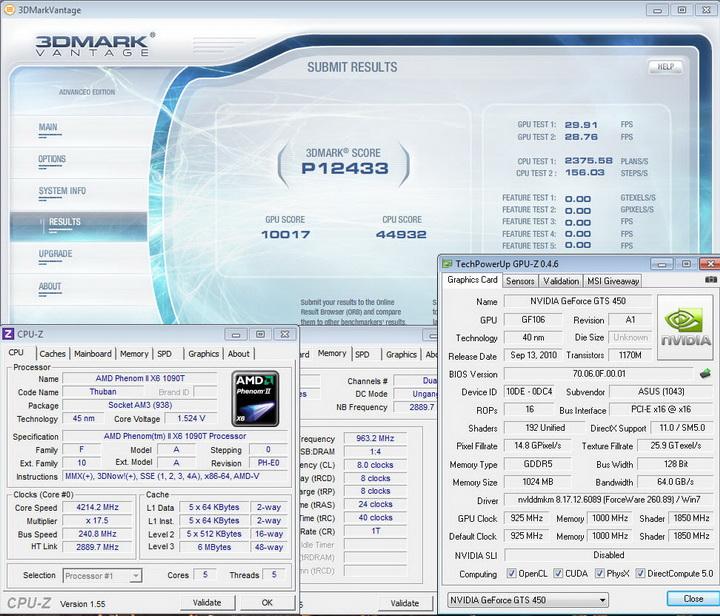 vantage21 Asus ENGTS450 TOP Review