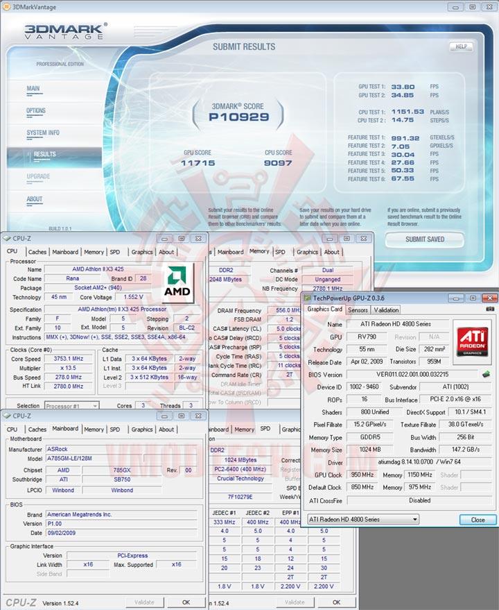 07x3 AMD Athlon II X3 425 Unlocks Core & L3 Cache Review