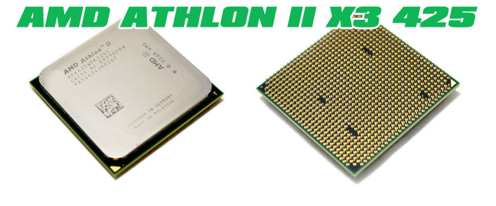 amd athlon ii x3 425 AMD Athlon II X3 425 Unlocks Core & L3 Cache Review