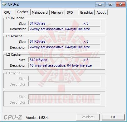 cpuz3 AMD Athlon II X3 425 Unlocks Core & L3 Cache Review