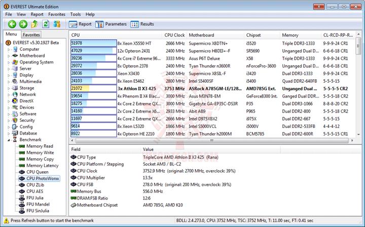 e3x3 AMD Athlon II X3 425 Unlocks Core & L3 Cache Review