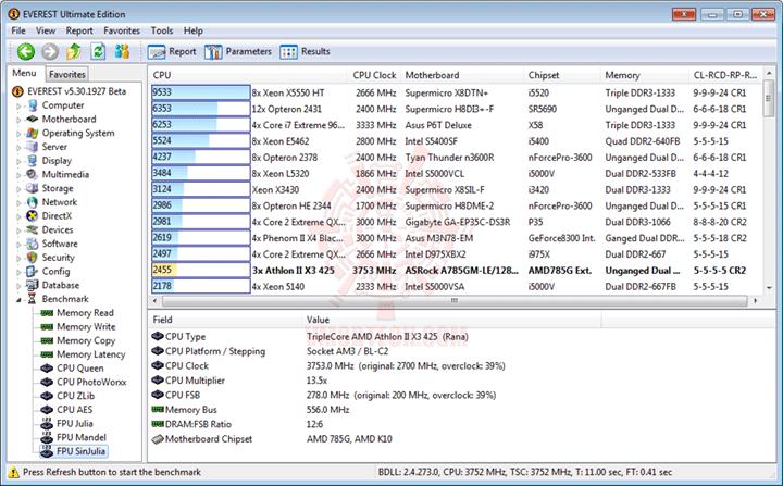 e8x3 AMD Athlon II X3 425 Unlocks Core & L3 Cache Review
