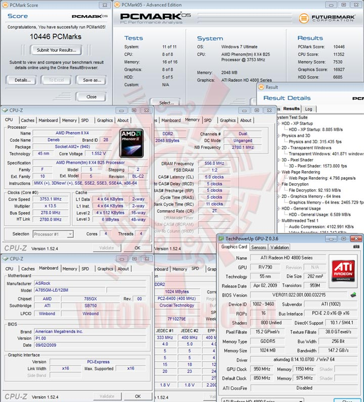 pcm05x4 AMD Athlon II X3 425 Unlocks Core & L3 Cache Review