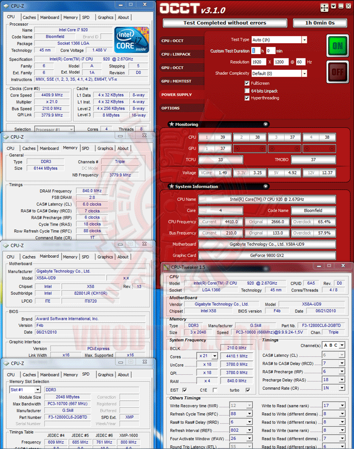 occt tpq 1200 Antec TPQ 1200 Overclocking Version 80 PLUS Silver Review