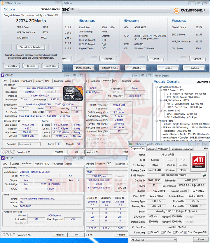 06 ov ASUS ARES HD 5870 X2 4GB GDDR5 Review