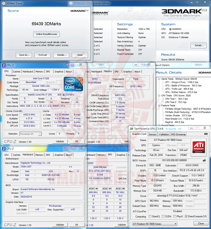 03 ov ASUS EAH5830 DirectCU HD 5830 1GB GDDR5 Review
