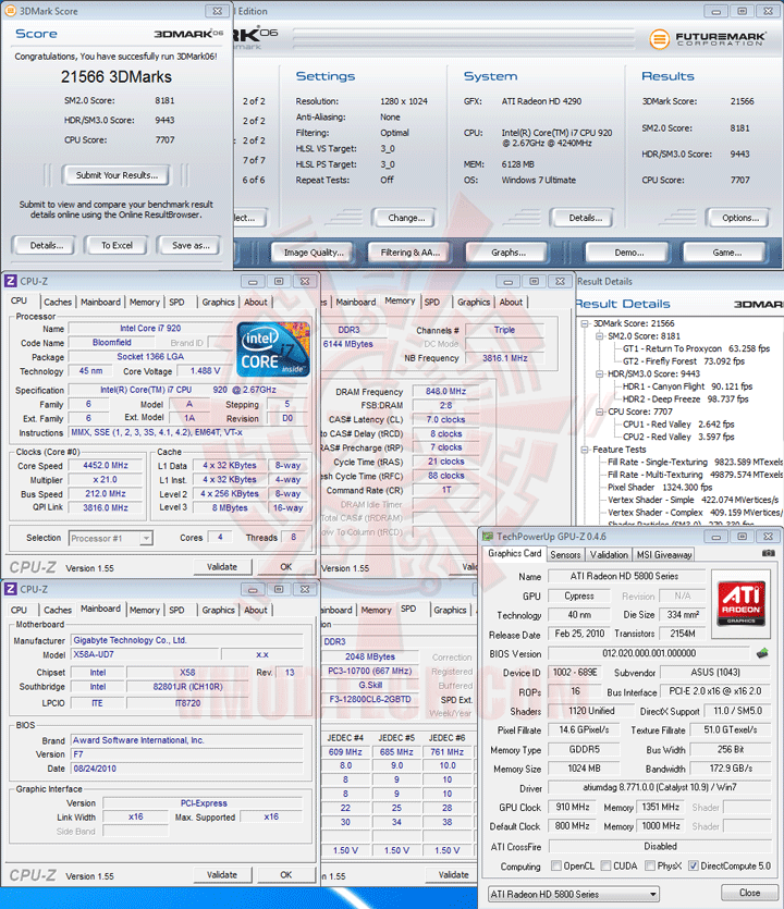 06 oc ASUS EAH5830 DirectCU HD 5830 1GB GDDR5 Review