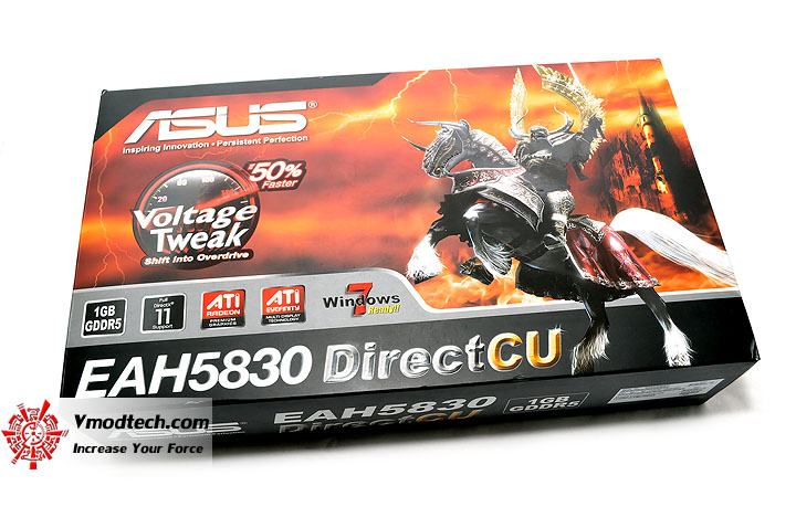 dsc 0061 ASUS EAH5830 DirectCU HD 5830 1GB GDDR5 Review