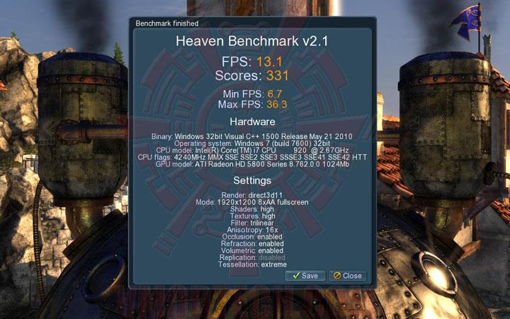 uh a ASUS EAH5870 V2 HD 5870 1024MB DDR5 Review