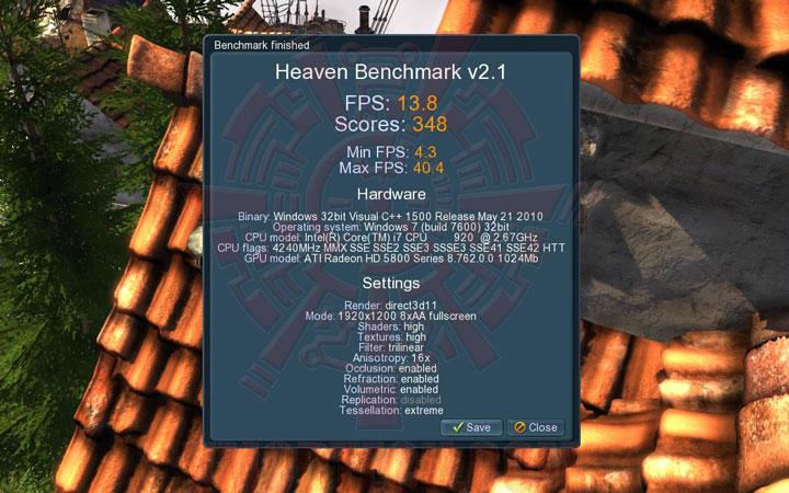 uh oc ASUS EAH5870 V2 HD 5870 1024MB DDR5 Review