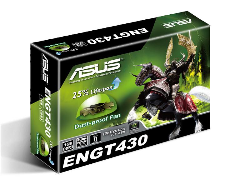 asus engt430 di 1gd3lp box อัสซุส เสนอกราฟิกการ์ดขนาดเล็กรุ่น ENGT430 เพื่อการใช้งานระบบโฮมเธียเตอร์พีซี และบลูเรย์ 3 มิติโดยเฉพาะ