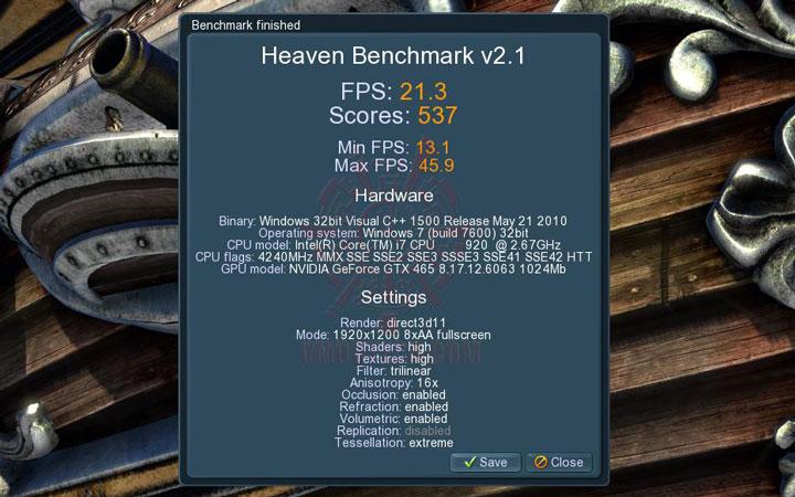 08 oc ASUS ENGTX465 GeForce GTX 465 1GB GDDR5 Review