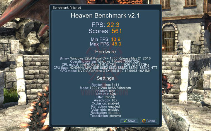 08 ov ASUS ENGTX465 GeForce GTX 465 1GB GDDR5 Review