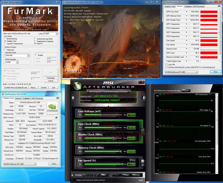 fur oc 720x592 ASUS ENGTX465 GeForce GTX 465 1GB GDDR5 Review