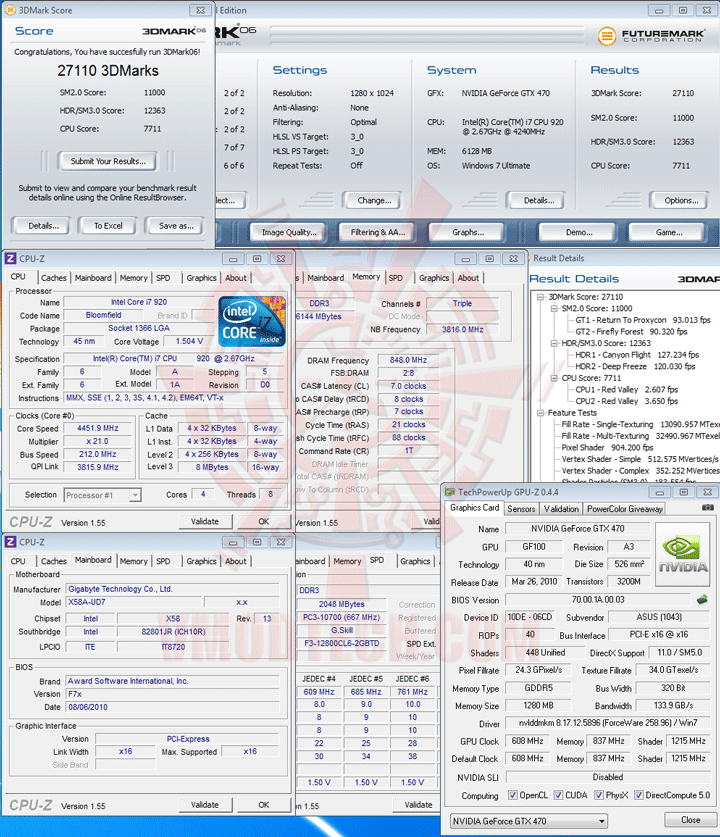 06 df ASUS ENGTX470 GeForce GTX 470 1280MB DDR5 Review