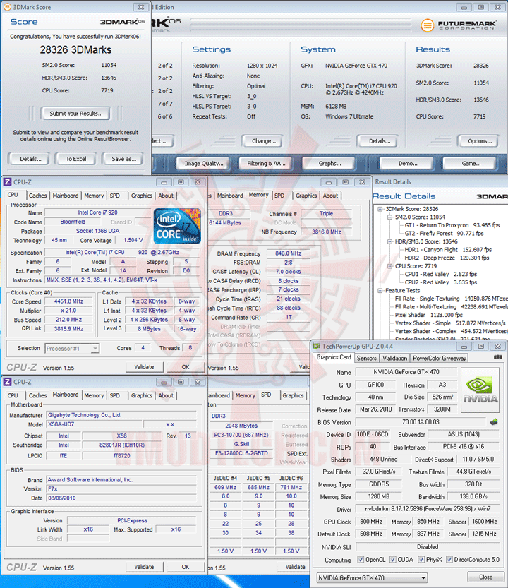 06 oc ASUS ENGTX470 GeForce GTX 470 1280MB DDR5 Review