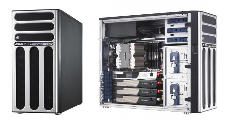 asus esc1000 720x384 อัสซุส ซูเปอร์คอมพิวเตอร์  รุ่น ESC1000     เจเนอเรชั่นล่าสุด ด้วยการประมวลผลระดับเทราฟล็อป รุ่นแรกของโลก