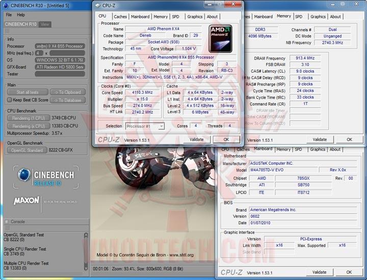 cb10 ASUS M4A785TD V EVO Review