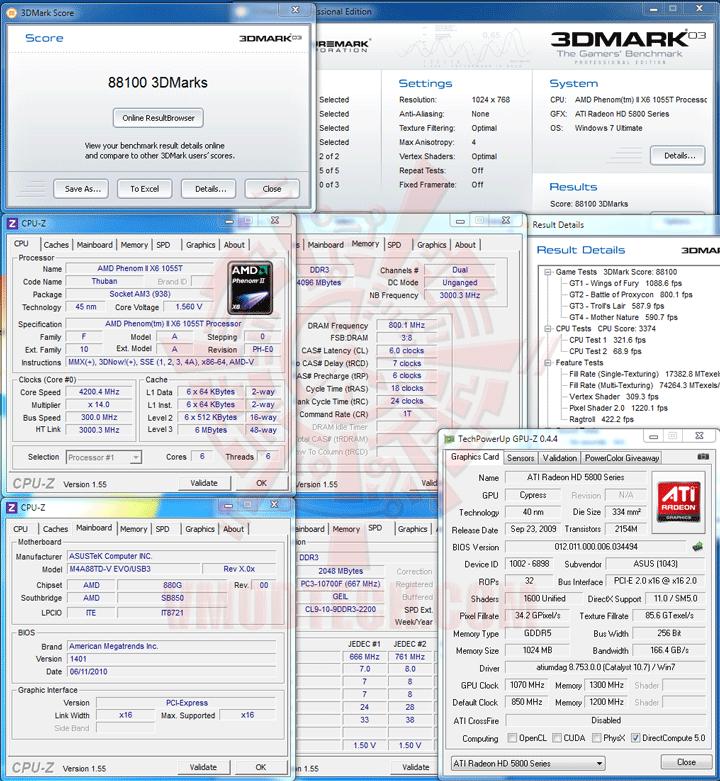 03 ASUS M4A88TD V EVO/USB3 Xtreme Design Motherboard Review