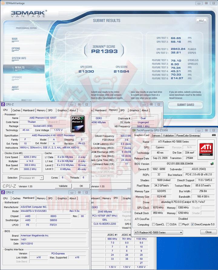 07 ASUS M4A88TD V EVO/USB3 Xtreme Design Motherboard Review