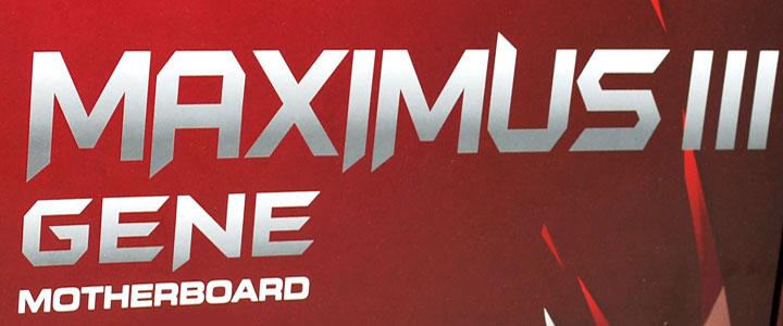 asus maximus iii gene ASUS MAXIMUS III GENE :Review