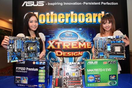 """5 """"อัสซุส"""" ส่งมาเธอร์บอร์ดชิพเซ็ต P55 รองรับ CPU Core i5 และ Core i7 (Socket 1156) ลงตลาดพร้อมกัน 7 รุ่น เน้นเทคโนโลยี """"เอ็กซ์ตรีม ดีไซน์"""""""