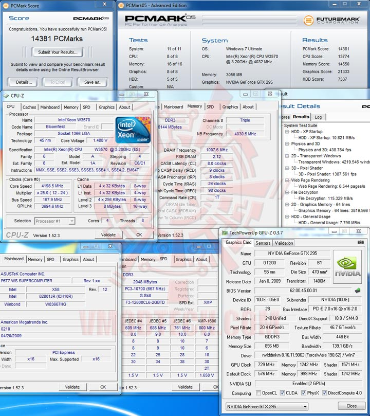 pc05 ASUS P6T7 WS SuperComputer Review