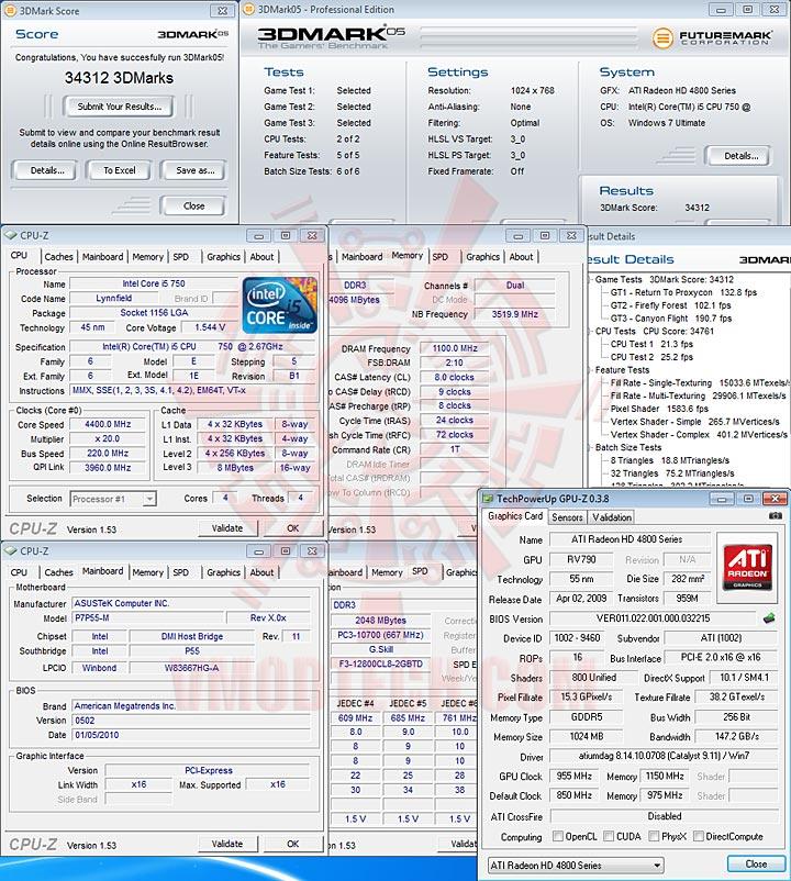 05 ASUS P7P55 M : Review