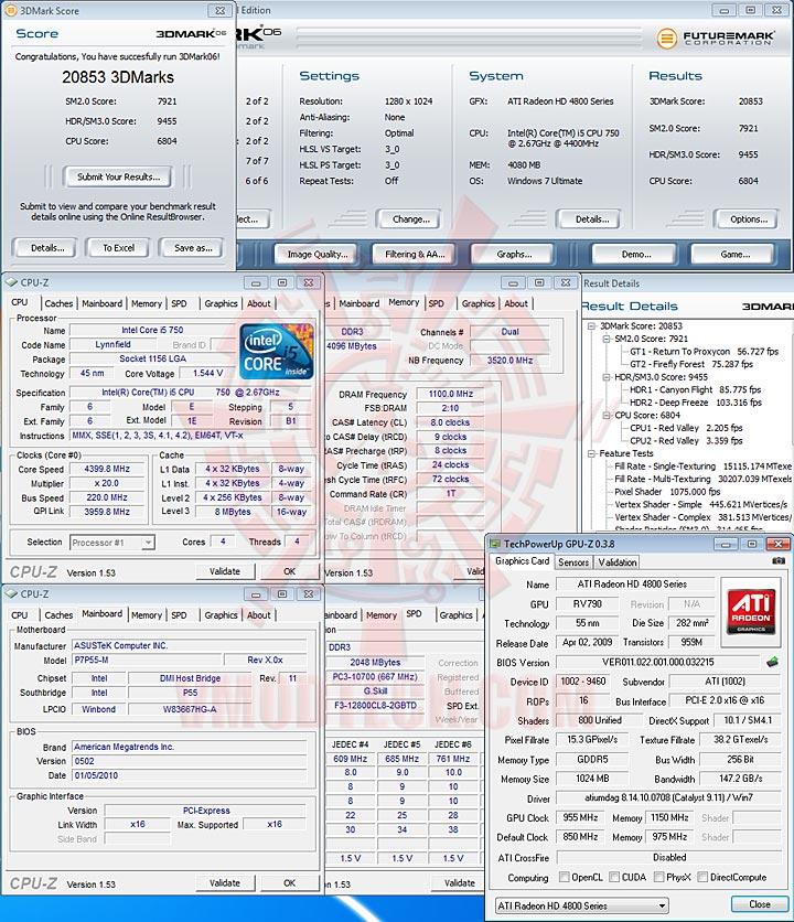 06 ASUS P7P55 M : Review