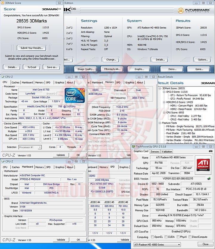 06 ASUS P7P55D E Premium : Review