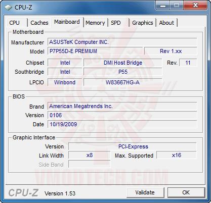 cpuz3 ASUS P7P55D E Premium : Review