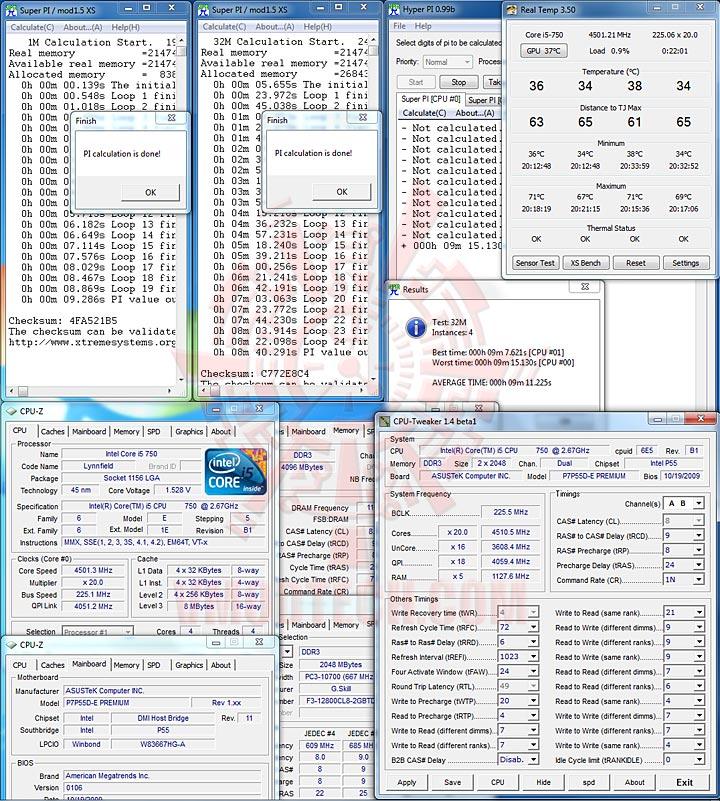 spi 4501 1 ASUS P7P55D E Premium : Review