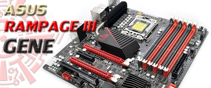 rampageiiigene 1 ASUS Rampage III GENE Micro ATX Motherboard Review