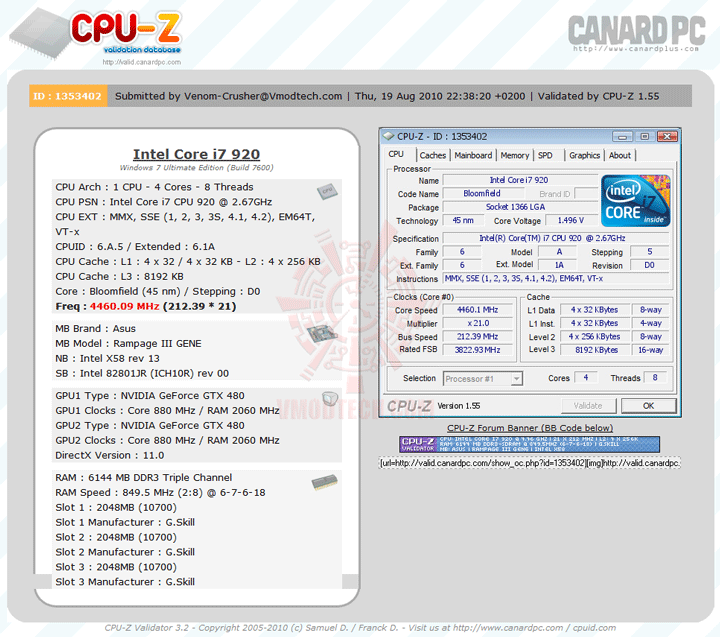 vali ASUS Rampage III GENE Micro ATX Motherboard Review