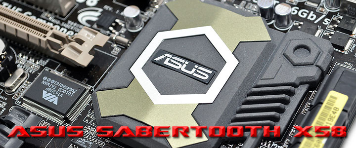 sabertoothx58 ASUS SABERTOOTH X58 Motherboard Review