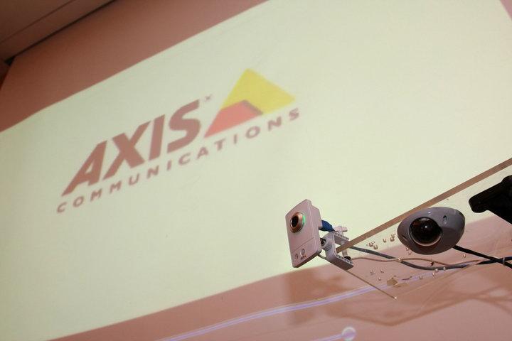img 6206 AXIS ยกระดับกล้องวิดีโอวงจรปิดบนเครือข่าย เสริมความแข็งแกร่งในฐานะผู้นำตลาด