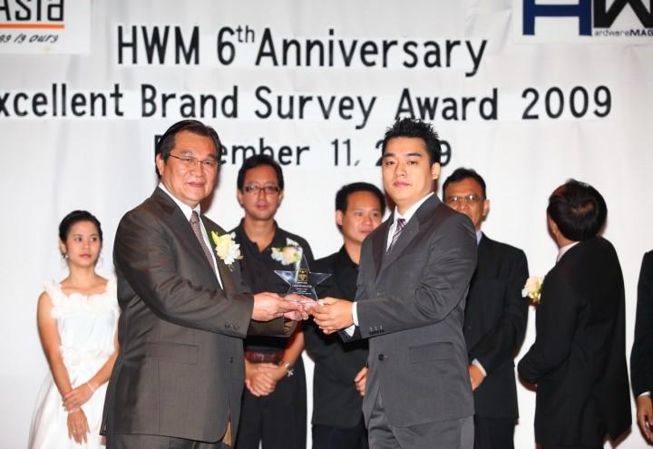 22 720x495 COOLER MASTER คว้ารางวัล Excellent Brand Survey Awards 2009 จาก นิตยสาร HWM