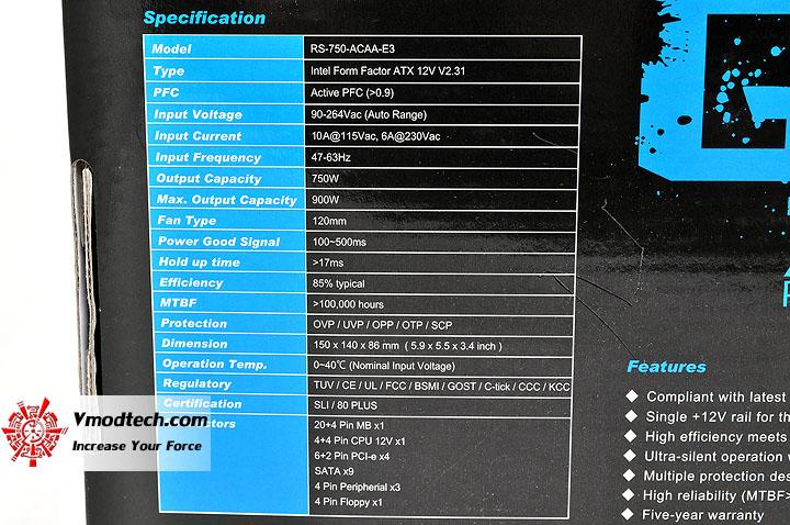 dsc 0014 Cooler Master GX Series 750W