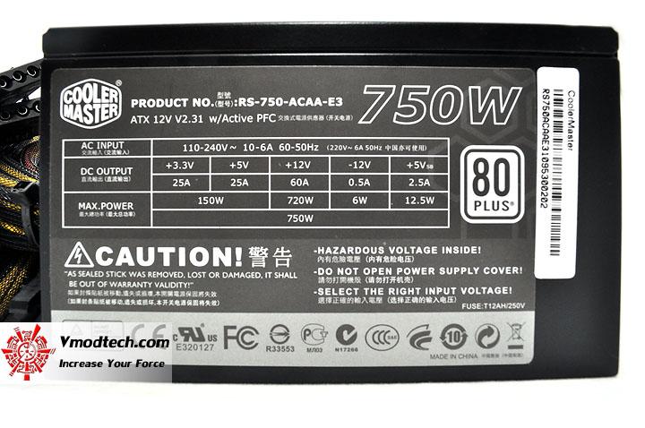 dsc 0019 Cooler Master GX Series 750W