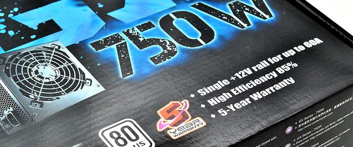 gx750w 1 Cooler Master GX Series 750W