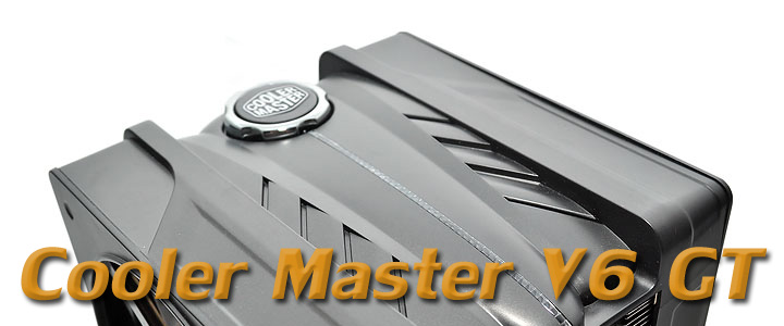 coolermastev6gt 1 Cooler Master V6 GT Muscle Cooling 200+W Cooling Solution Review