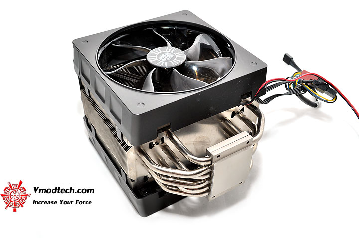 dsc 0058 Cooler Master V6 GT Muscle Cooling 200+W Cooling Solution Review