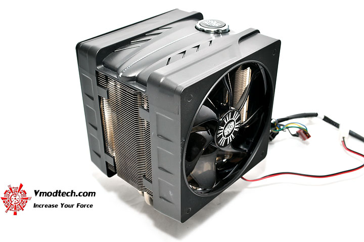 dsc 0064 Cooler Master V6 GT Muscle Cooling 200+W Cooling Solution Review