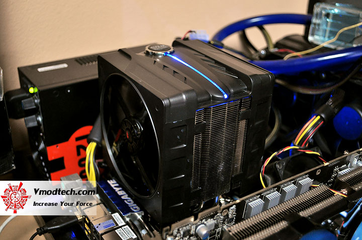 dsc 0094 Cooler Master V6 GT Muscle Cooling 200+W Cooling Solution Review