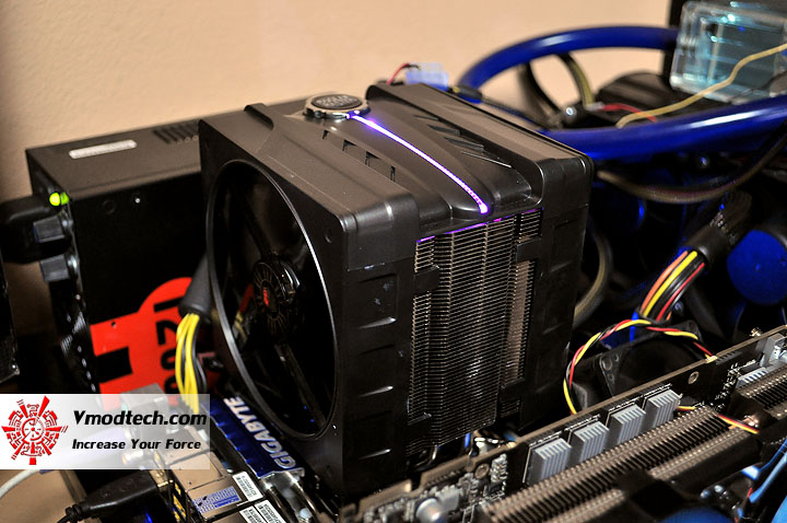dsc 0098 Cooler Master V6 GT Muscle Cooling 200+W Cooling Solution Review