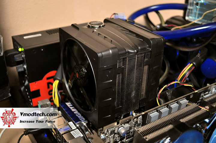 dsc 0102 Cooler Master V6 GT Muscle Cooling 200+W Cooling Solution Review